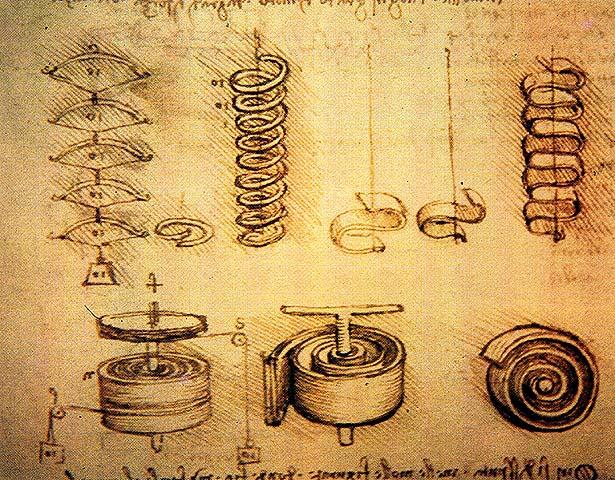 Механизмы леонардо да винчи